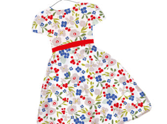 dress design tinyflowers