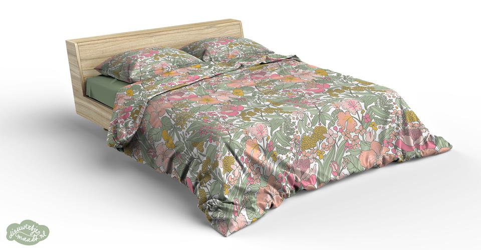 floral bedding design by dieuwertje van de moosdijk